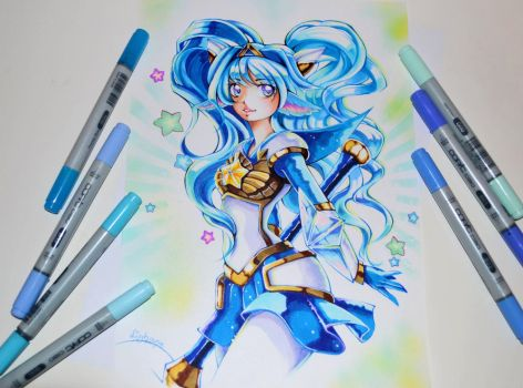Star Guardian Poppy by Lighane