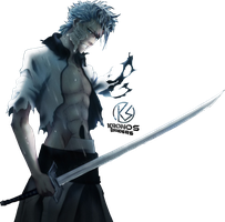 Grimmjow render by Kronos3051
