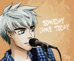Jack Frost singing by jollychee