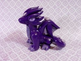 Purple Dragon by Snowifer