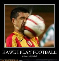 howe i play football by miniwacher