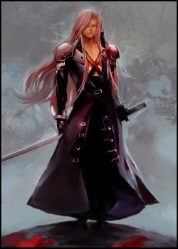 Sephiroth by Athena-chan