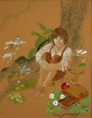 Frodo of the Shire by Taerietari