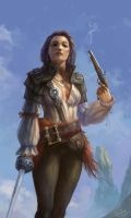 pirate female + by Perseass
