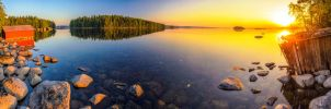 Saimaa Panorama by Toni-R