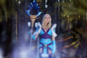 DotA 2 - Crystal Maiden - Sense of Frost by MilliganVick