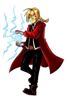 Edward Elric by damnskippy