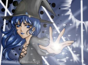 COLOURED  Witch by s blue faerie - Cad�Lara AvatarLar :)