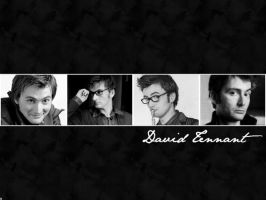 David Tennant Wallpaper by Groteskiprincessa