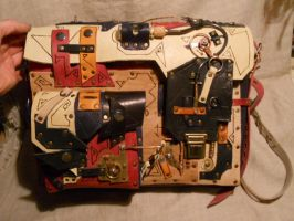 A steampunk-abstract bag by ChanceZero