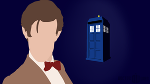 Minimalist Eleventh Doctor by lCloud
