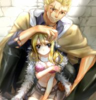 Laxus and lucy by Laxus23