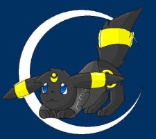 Chrissie as Umbreon by TwilightTheEevee