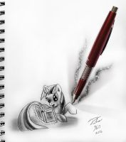 Drawn To Life_Twilight Sparkle by Tsitra360