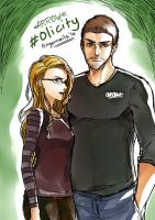 Olicity! by fingernailtreez