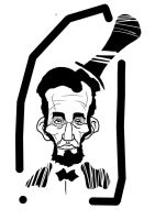 caricature: abraham lincoln by benci04