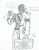RWBY OC Cutter Arsenic by JettErebus
