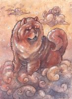The Canine King of the Sky by Kitsune-Seven