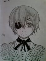 Ciel Phantomhive Drawing by LacriChan