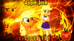 Applejack Element of Honesty Wallpaper by DigiRadiance