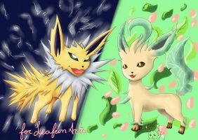 .:CM:. LeafeonArts by Lillytheeevee