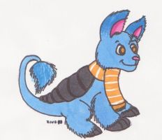 cucumbare in markers by zookydragon
