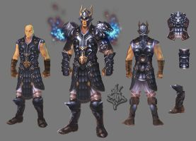 Armor male by ilison