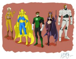 Justice league set 3 by Lemwell