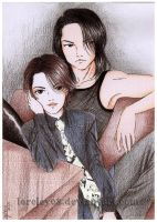 Hyde and Sakura-1996 by loreley08