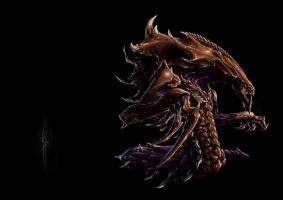 HYDRALISK - Zerg Evolutionary Strain by Geoffrey-E