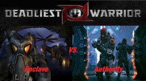 Deadliest Warrior Enclave vs. Authority by Lord4536