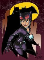 HawaiianTropicGirls: Catwoman by KidNotorious
