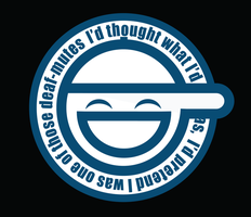 Vector Laughing Man logo by ericdbz
