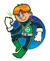 Power ring and a bowl cut... by nakedDerby