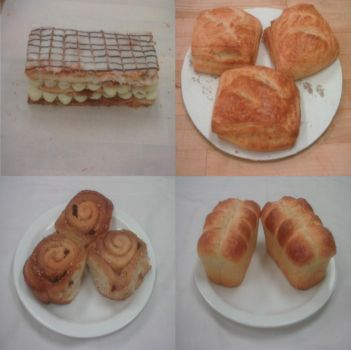 Hexpinteas Baking And Pastry Dishes Part 6 by hexpinteas