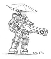 Tau Scribble 001 by shoba