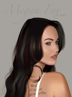 megan fox by VinshArt