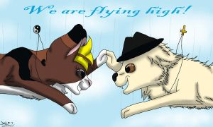 We are flying high by fluffylovey