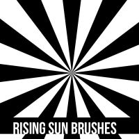 Rising Sun Brushes (no son mios) by Swiftie1310
