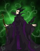 Maleficient by ronanlebourg