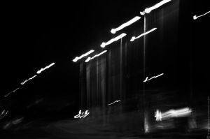 Road at night 2 by Gothumanity
