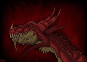 Dragon de Sangre by LarryMoe2012