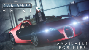 Payday 2 : The Car Shop Heist by MrShlapa