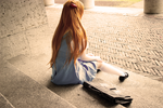 .:I'll always waiting..Shinji-kun:. by SecondImpactCosplay