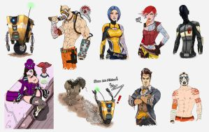 Borderlands 2 Dump by ArtWarrior25
