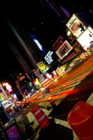 Times Square 2am by Rookie2209
