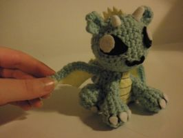 first dragon amigurumi by IduChan