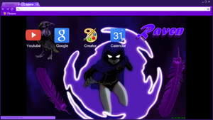 Raven Chrome Theme by AnIm3MaNgA