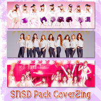 SNSD 6th Anniversary - Pack CVZing by Pep by lapep999
