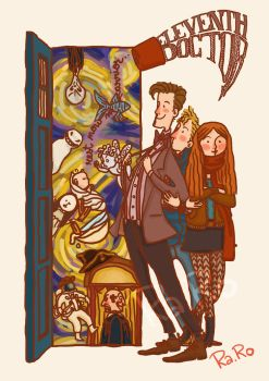 Eleventh Doctor by RaRo81